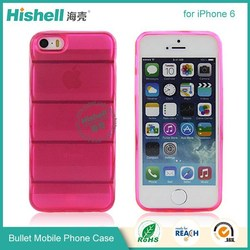 New design bullet back case for iphone 6 protector