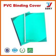 Binding cover pp or pvc plastic sheet