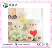 """Urso de pelúcia barato com um coração pode dizer """" eu te amo """""""