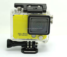 Full Hd 1080p X5 wifi action camera with remote control wifi action camera 170 degeree angel