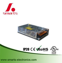 CE/UL/ROHS listed 110v enclosure power supply 12v 150w aluminum mesh IP20