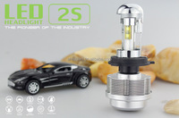 High Power 3600LM 30W 6v 12v 24v 6000k Car Hight Low beam Led bulbs led headlight bulb h4