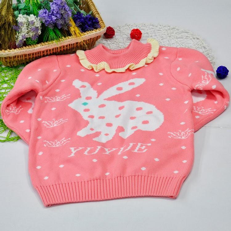 Los niños de punto suéter de Navidad patrones feo cuello alto tops ...
