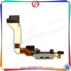 Best Quality Original Charging Flex for IPhone 4 , for Iphone 4 Dock Flex Cable , USB Charging Port Flex for Iphone 4