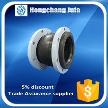 CL150 grade flat stainless flanged type rubber bellows joint