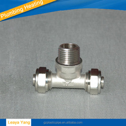 PEX copper compression fitting union/PEX brass fittings/Plumbing and Heating