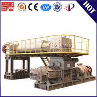 German technology steel materials clay brick production line with best selling fly ash brick making machine