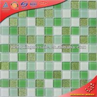 Stained luminous Glass Mosaic with Feature of Bright, Clear Appearance, Resistant to Fading, Staining H2027