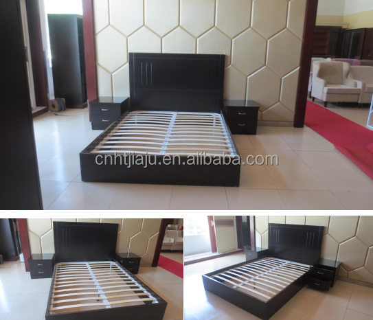 Sale high quality hotel bedroom sets bed and bedside table for Good quality affordable bedroom furniture