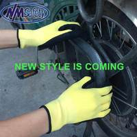 NMSafety Work Gloves Nitrile Palm Coated ,ansell nitrile gloves,Workplace Safety Glove