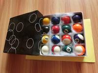 Indoor Household Family Use 16PCS Christmas Set of Billiard Ball For Children