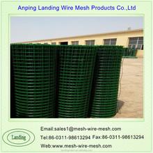 fabbrica a basso prezzo di plastica rivestita rete elettrosaldata