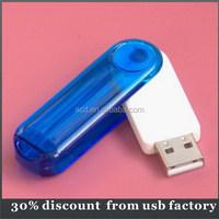 custom bulk 16GB rotating usb flash memory stick