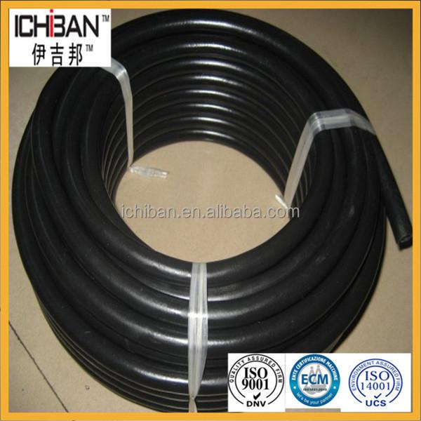 Fiber reinforced inch high pressure rubber water hose
