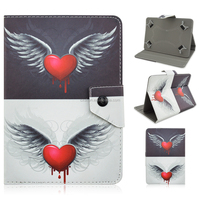 Colored Drawing PU Leather Flip Stand Smart Case For iPad 2/3/4/Air Case