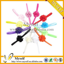 2015 cheap colorful wholesale bridal crochet baby flower headband