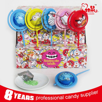 Fancy Rotating Color Balls Popping Candy toys sweet