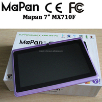 tablet pc MaPan 1024x600, camera with flashlight, 2500mah removable battery/MaPan 7 inch quad core android tablet