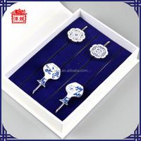 Personalised Handmade Bookmark with beautiful flower QH4003