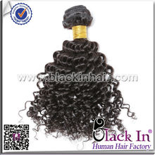 Golden Perfect Natural Style Bresilienne Human Hair Weaving brazilian hair kinky curly