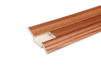 Durable PVC wall skirting and indoor rubber baseboard