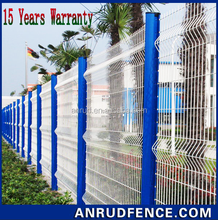 Metal Used Wire Mesh Wrought Iron Fence Panels For Sale With 15 Years Warranty
