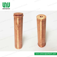 2014 newest Mech MOD red copper pegasus copper mod ecig copper style wholesale