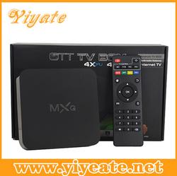 pre-installed xbmc android tv box mxq amlogic s805 quad core mxq ott tv box
