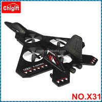 2.4GHZ RC F-22 fighter Plane with gyro rc fighter jet X31