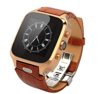 1pc free DHL shipping, M8 andriod 4.4 GSM wifi, smart watch phone
