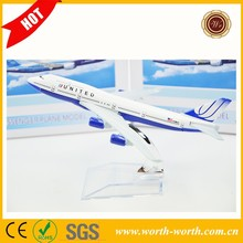 Wholesale alibaba United UNTTED B777 stand airplane, alloy toy plane for collection