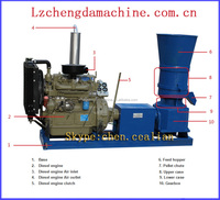 factory supply directly cow food pellet mill tabacco leaf pellet machinery