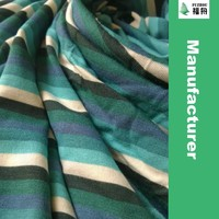 2015 New Prodcut Bamboo Knit Jersey Stripe Fabric