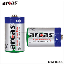 dry cell battery R20 1.5V