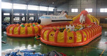High quality commercial dragon sea inflatable advertising good quality