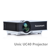 Original UC40 Mini Projector 800 Lumen LED Proyector 1080P HDMI USB VGA SD