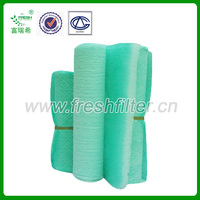 High temperature floor filter, fiberglass raw material(PA-50/75/1000)