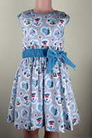 Pinktuck front belted chambray Bodydoll Dresses for girls decorative dress belts