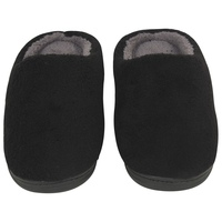 LUXEHOME The flavourous cashmere gray man slippers made in china