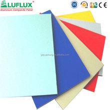 PVDF Aluflux aluminum composite panel(acp)