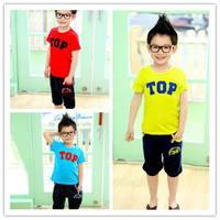 Wholesale New Products Kids Boys Clothing Suit overstock