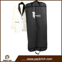 2015 Newest classic style portable breathable PEVA mens suit garment bags