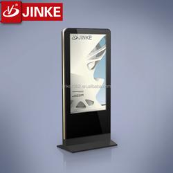 JINKE single side scrolling advertising led light box flat aluminum frame
