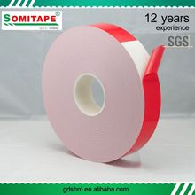 Acrylic Gule Roll Pe Foam Tape For Windows