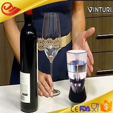 Beautiful design Vienna art glass wine decanter
