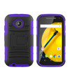 Factory price Holster combo case for Motorola Moto E 2nd Gen with retail packing