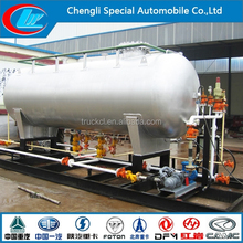 china made 50m3 lpg gas tank filling station