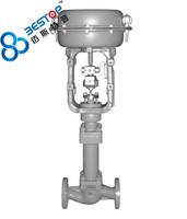 small bore bellows sealing single seat control valve