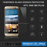 mobile phone tempered glass screen protector film for HTC One M9 Plus with custom design