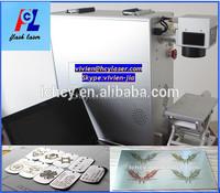 China hot sale!!! High precision cell phone 10W 20W 30W fiber laser marking machine lowest price